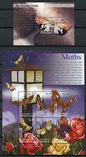 DOMINICA 2002 Schmetterlinge Butterflies Farfalla Mariposa 3341-46 + Bl.462 **