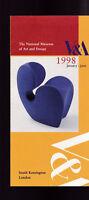 National Museum of Art & Design 1998 January-June Brochure London