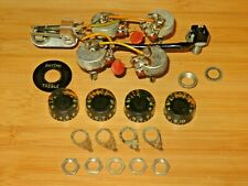 Gibson 1972 Nickel SG Electronic Control Pots Harness