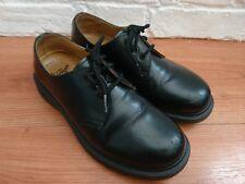Dr Martens 1461 3 Eyelet Black Leather Size UK 4 EU 37 Grunge Vintage Goth Mod