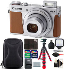 Canon Powershot G9 X Mark II 20.1MP Digital Camera with Deluxe Accessory Kit