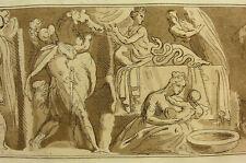 'Alexander du grand; Alexander the Great' CARAVAGE/Metz, aquatinte 1791