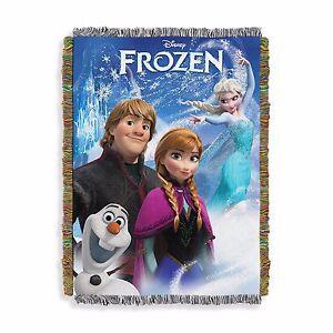 New Disney Frozen A Frozen Day Blanket Tapestry Throw