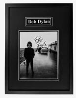 Bob Dylan Original Autograph, Framed Ready to Hang