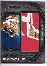 2015 ITG STICKWORK GRANT FUHR JUMBO GAME USED GOALIE PADDLE #21/30 OILERS!!