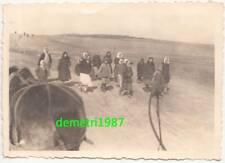 Foto Russinnen kommen von Arbeit Einheimische Bevölkerung 2 Wk WW2 ! (F2192