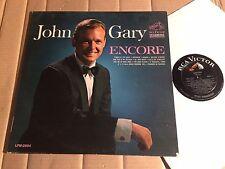 John Gary-Encore-LP-RCA Victor DYNAGROOVE lpm-2804 - mono-USA 1964