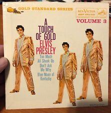 "ELVIS PRESLEY ~ ""A TOUCH OF GOLD VOL 3"" ~ GS EP ~ ORANGE LABEL ~ NM ~ MEGA RARE"