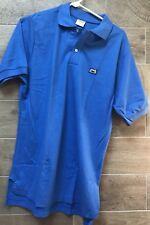 Vintage MAXELL XL-S Cassette Tape Polo Shirt (80s) Blue Sz L