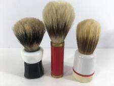 Shaving Brush Vtg 3 Pc Lot E Tonal Italy Sekine Austria Twist Base Orig Soap Exc Ebay