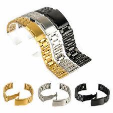 Edelstahl-Uhrenarmbänder mit 24mm Stegbreite