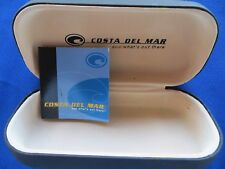 Costa Del Mar Sunglass Case Black Designer Protection Good Condition Free Ship