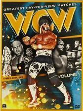 WCW Greatest PPV Matches 3 Disc DVD WWF WWE Wrestling - Goldberg Hulk Hogan