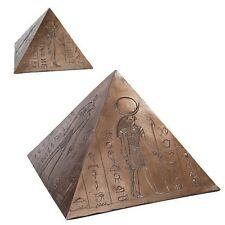 Anubis Horus Egyptian Gods Pyramid Bottom Load Cremation Urn Funeral Supply