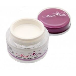 French Gel Extreme White UV/LED For French Manicure