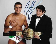 Ricardo Rodriguez Signed 8x10 Photo WWE Belt Picture w Alberto Del Rio Autograph