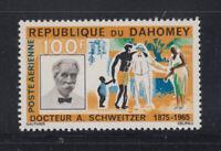 Dahomey 1966 A Schweitzer Medicine  Sc C31 Mint never hinged