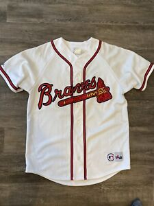 Vintage Atlanta Braves Majestic Jersey Size Large Men Gary Sheffield