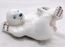 B & G Royal Copenhagen Polar Bear Cub Figurine Porcelain 537 Denmark