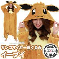 SAZAC Pokemon Eevee Costume Eievui Cosplay Coral Meyer Adult Unisex Japan F/S