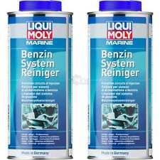 2x Liqui Moly 25010 Marine Nettoyant de Système Carburant Fuel System Cleaner