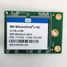 SSD-M0032UC-4910 Western Digital SiliconDrive U100 32GB SLC USB 2.0 eUSB