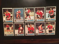 Topps 10 HOCKEY CARDS LOT. EX/NM. NICE!