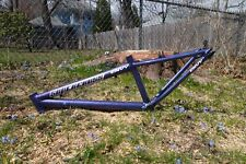 "Supercross Envy 24"" Bmx Frame Cruiser Custom Sparkle Paint Galaxy Fade Rare Blue"