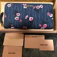 Super Rare Japan limited item miumiu wallet From JAPAN Free shipping