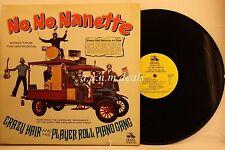 """Crazy Hair And His Player Piano Gang - No, No, Nanette - DE & EL LP 12"""" (VG)"""