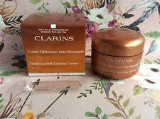 Clarins Paris Delicious Self Tanning Cream BNIB sealed 125ml auto bronzer cocoa