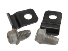 Correct 1939-48 Ford brake line clamps and cadmium self tapping screws T-96-01