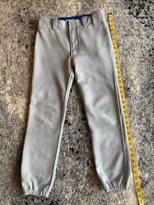Used Mizuno Youth XL Baseball pants Grey