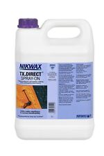 Nikwax TX Direct Spray On 5 Litre Waterproofing for Wet Weather Outdoor Clothing