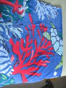 "Vera Bradley Beach Towel ""SEASCAPE""..New"