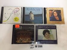 Lot Of 5 Rita MacNeil CDs Reason To Believe Home Ill Be A Thousand Nights 96