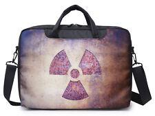 "17""17.3"" Inch Canvas Laptop Computer Bag Briefcase bag With Shoulder Strap 1603"