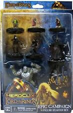 HEROCLIX - The Lord of the Rings Epic Campaign - 8 Figure Starter Set NEW