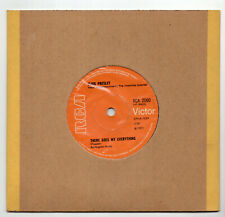 (T573) Elvis Presley, I Really Don't Want To Know - 1971 - 7 inch vinyl