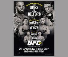 UFC 152 JON BONES JONES vs VITOR BELFORT Toronto 9/22/2012 Official Event Poster