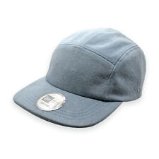 NEW ERA 5 PANEL LIGHT BLUE DENIM 'VALUES' STRAPBACK CAP HAT