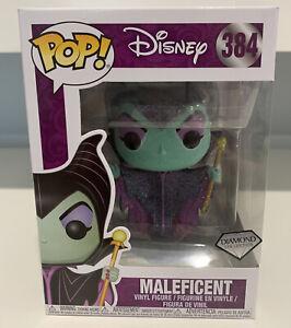 Disney Maleficent Diamond Glitter Funko Pop! Vinyl