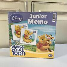 🍓 Jeu Jouet Junior Mémo Disney Winnie The Pooh Clementoni Neuf Sous Blister