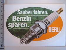 Aufkleber BERU Zündkerzen Motor Auto  (1098)