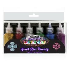 20 ml Classic Color Glitter Glue (6/Pack)