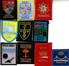 Boy Scout Badges from LONDON NORTH EAST County x 9 inc Ext BARKING