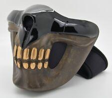 M01 Madmax Half Face Mask Filter Motorcycle Biker Cycling Ski Snowboard Winter