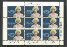 1980 Pitcairn Island Queen Mother 80th Birthday SG 206 Muh Sheetlet