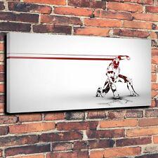 Iron Man Comic Art Print Oil Painting on Canvas Home Decor (Unframed)