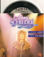 ANNY SCHILDER - you are my hero CD SINGLE 3TR 1989 BZN CARDSLEEVE